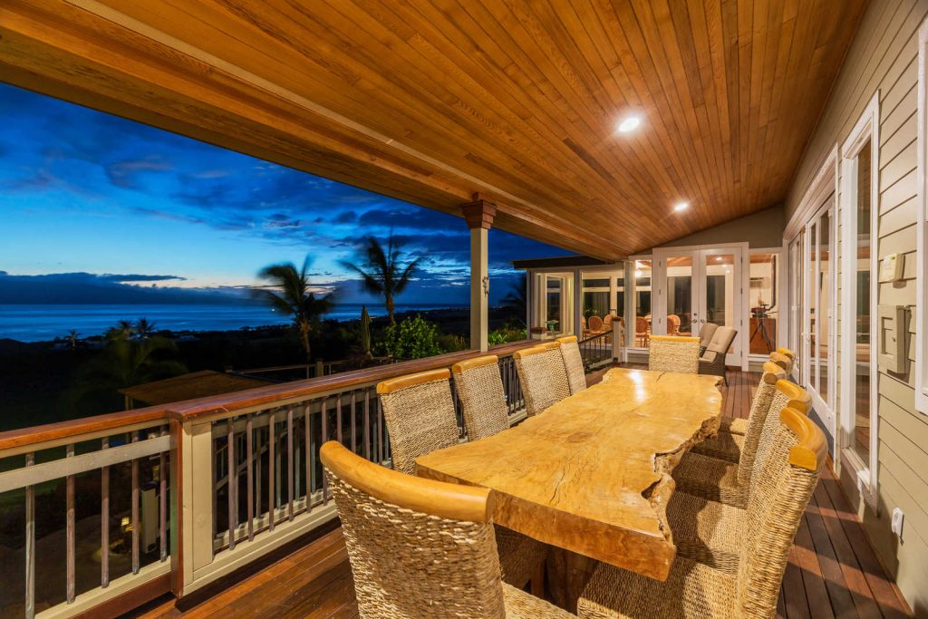 Coastal Log Home