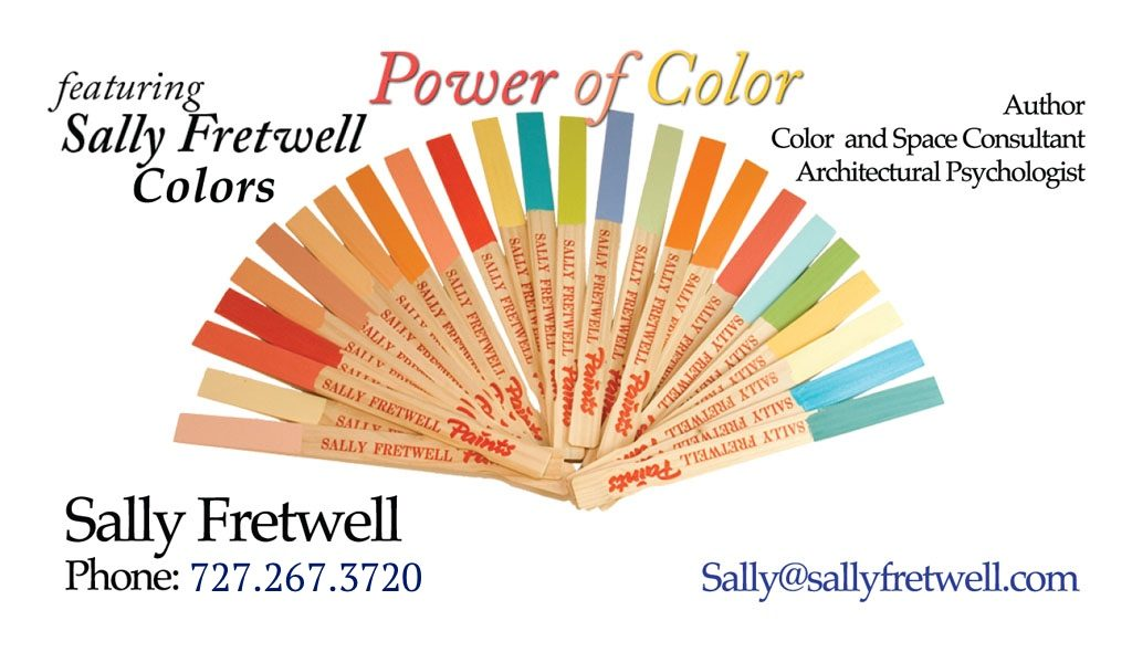 Sally Fretwell Feng Shui Interior Decorator in Tampa and New Port Richey, Florida