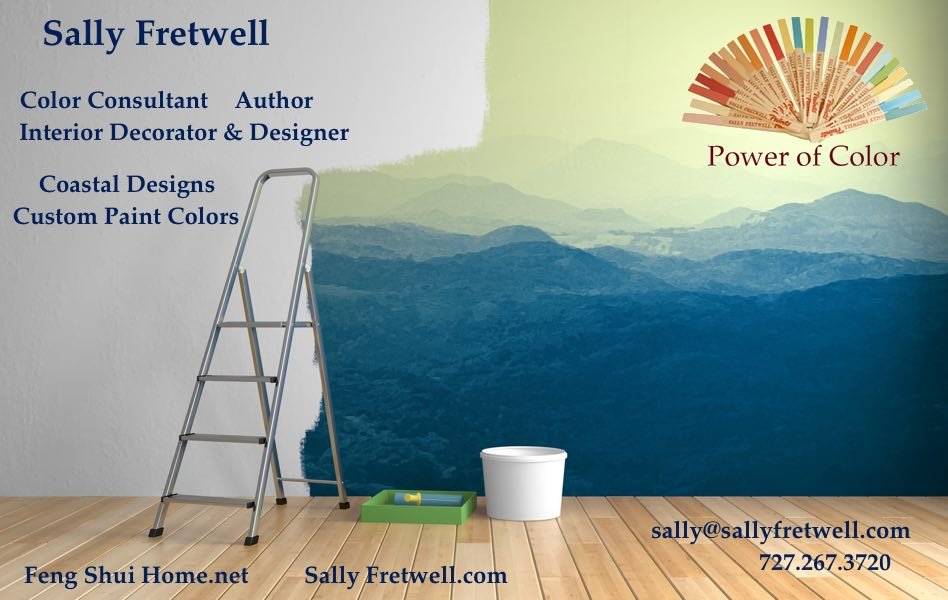 Sally Fretwell Interior Decorator and Paint Color Specialist in Tampa, Florida